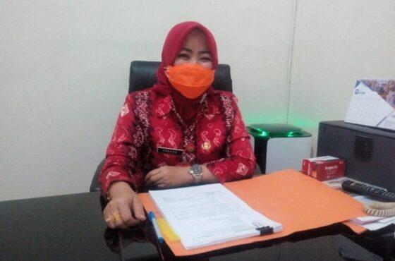 Sekretaris Satuan Tugas (Satgas) Penanganan Covid-19 Kabupaten Grobogan Endang Sulistyoningsih. (Solopos.com/Arif Fajar Setiadi)