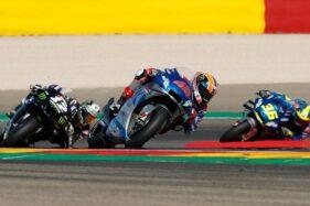 Jalannya Moto GP Aragon 2020 (Reuters)