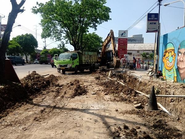 Belasan Bangunan Tepi Jl Ir Sutami Solo Kena Proyek Drainase, Warga Tunggu Kompensasi