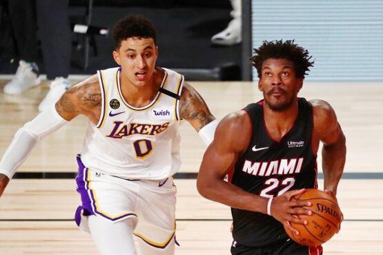 Miami Heat vs LA Lakers (Reuters)