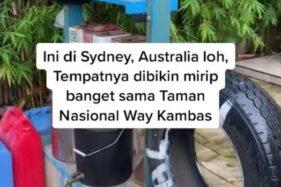 Viral Replika Kampung Indonesia di Kebun Binatang Taronga Australia