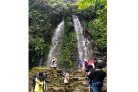Objek wisata Air Terjun Jumog, Ngargoyoso, Karanganyar. (Solopos.com/Chelin Indra Sushmita)