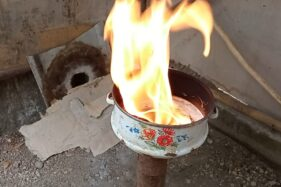 Api Abadi Mrapen Padam, Api Bonagung Sragen Malah Tunjukkan Tanda Keabadian