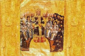 Yohanes VI Kantakouzenos yang mengklaim sebagai Kaisar Bizantium dan memecah Perang Saudara Bizantium. (Wikipedia.org)