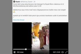 Viral! Bupati Blora Asyik Nyanyi Sambil Joget di Hajatan