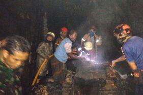 Diawali Letupan, Pabrik Tahu di Gabugan Sragen Ludes Terbakar