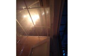 Gedung SMA Regina Pacis Solo terbakar, Sabtu (24/10/2020). (Istimewa)