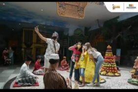 Para pengunjung Museum Tubuh Jatim Park 1 wajib mematuhi protokol kesehatan (istimewa/Instagram Jatim Park)