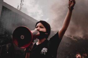Nabila Syadza: Mahasiswi Cantik yang Orasi Pelesetkan Pancasila
