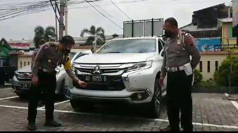 Pajero Sport Ugal-Ugalan di Jalanan Solo Ternyata Milik Warga Kartasura