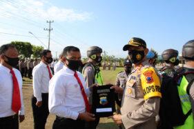 Sukses Ungkap Kasus Upal dan Pencurian, Belasan Polisi Klaten Dapat Penghargaan