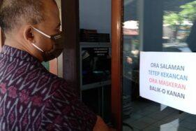 PNS Sragen Ubah Gaya Salaman Demi Tetap Aman di Masa Pandemi