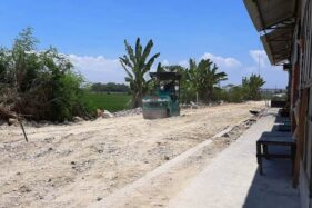 Puluhan Los Pasar Masaran Sragen Diratakan dengan Tanah