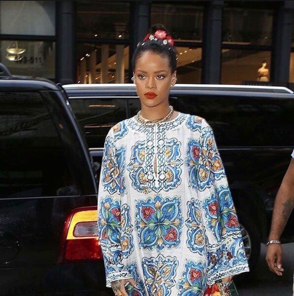 Rihanna. (Instagram/badgal_rihanna)