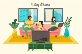 Libur Panjang, Staycation di Rumah Aja Biar Aman dari Covid-19