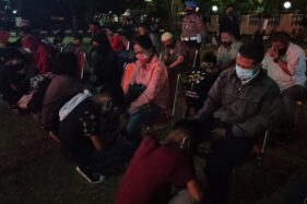 Ikut Ditangkap Saat Ada Demo Di Balai Kota Solo, Puluhan Pelajar Disuruh Sungkem Ortu Sebelum Dilepas