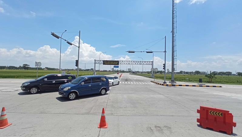 Libur Panjang, 3.500 Kendaraan Keluar dari Gerbang Tol Pungkruk Sragen