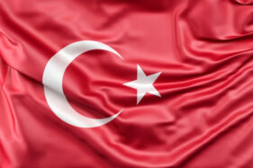 Bendera Turki. (Freepik)