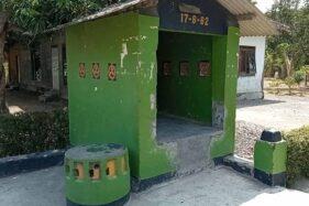 Watu Giling, Batu Langka yang Cuma Jadi Hiasan Pos Kamling di Masaran Sragen