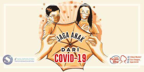 Infografis Jaga Anak dari Covid-19 (Solopos/Whisnupaksa)