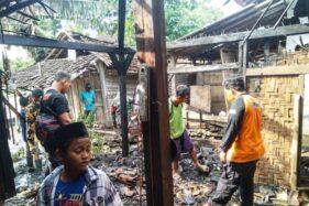 Kebakaran Hanguskan Dapur Ponpes di Sumberlawang Sragen, Api Diduga Dari Tungku