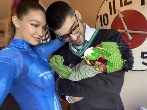 Gigi Hadid dan Zayn Malik. (Instagram/People)