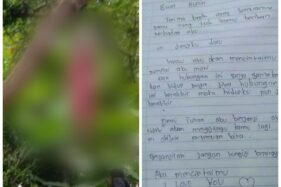 Tinggalkan Surat untuk Pacar, Siswa SMA di Toraja Gantung Diri