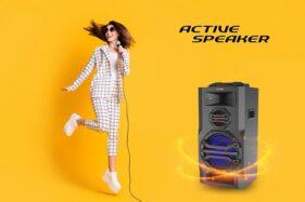 Active Speaker PAS 12SA15 Produk Polytron. (Istimewa)
