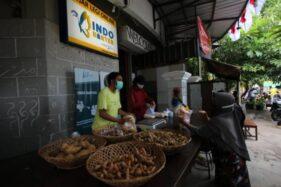 Penjualan Sepi Saat Pagebluk, Pedagang Pasar Legi Solo Ikut Sistem Barter