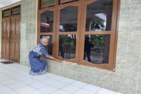 Aksi Komplotan Maling di Polokarto Terekam CCTV, Rekamannya Seperti Film Horor