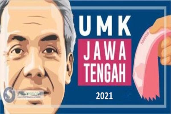Ilustrasi Gubernur Ganjar Pranowo menetapkan pah minimum 2021 di 35 kota dan kabupaten Jateng, (Solopos.com)