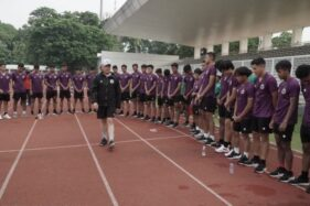 Para pemian Timnas U-19 mengikuti pemusatan latihan di Jakarta. (PSSI)