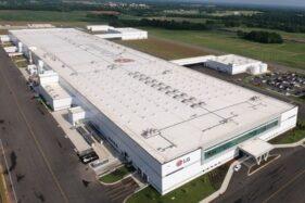 Pabrik LG Electronics. (Istimewa-LG Electronics)