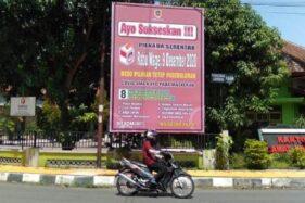 Baliho tentang Pilkada Klaten dan Protokol Kesehatan yang dipasang Diskominfo Klaten. (Solopos.com/Humas Setda Klaten)