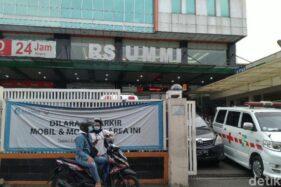 RS UMMI Bogor, lokasi Rizieq Syihab dirawat (Detik.com)