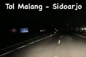 Jalan tol Malang-Sidoarjo (Facebook)