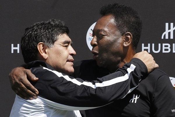 Maradona Meninggal, Pele Janji Main Bola di Akhirat