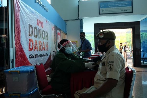 Korpri TNI/Polri Pastikan Pendonoran Darah Aman saat Pandemi