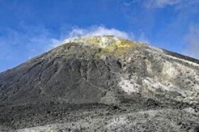 Gunung Ile Ape. (Bisnis-Dok.)