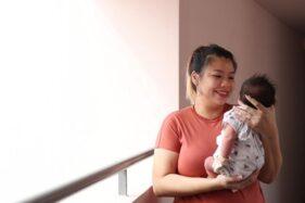 Celine Ng-Chan dan anaknya, Aldrian Zaccheus Chan. (Straits Times)