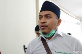 Wakil Sekretaris Umum FPI, Aziz Yanuar. (detik.com)