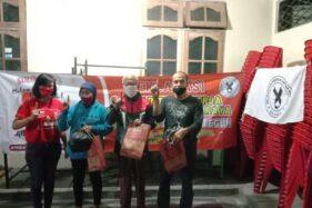 Solidaritas Buruh menyatakan dukungannya mereka untuk Gibran-Teguh. (Istimewa)