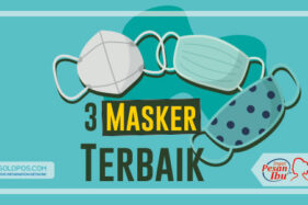 Infografis 3 Masker Terbaik (Solopos/Whisnupaksa)