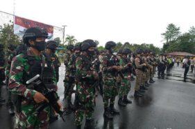 TNI-Polri di Timika disiagakan jelang 1 Desember 2020 (Detik.com)