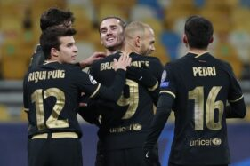 Bekuk Dynamo Kiev, Rotasi Pemain Barcelona Sukses Besar