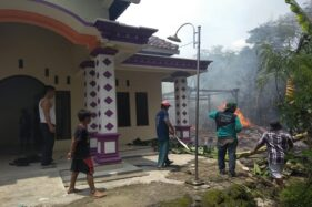 1 Rumah di Tanon Sragen Terbakar, 7 Kambing Mati Terpanggang, Uang Rp2 Juta Jadi Abu