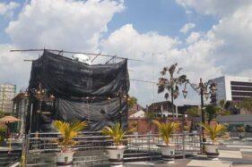 Diresmikan Desember, Begini Penampakan Patung Merlion di Sumber Wangi Madiun