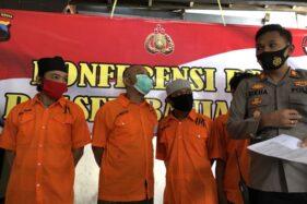 3 Sahabat Ini Patungan Beli Sabu-Sabu, Ditangkap Polisi Banjarsari Solo Saat Ambil Paket