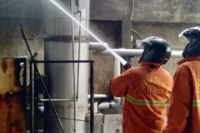 Gudang Kayu dan Tempat Pengolahan Mi di Wonogiri Kebakaran, Kerugian Capai Rp30 juta