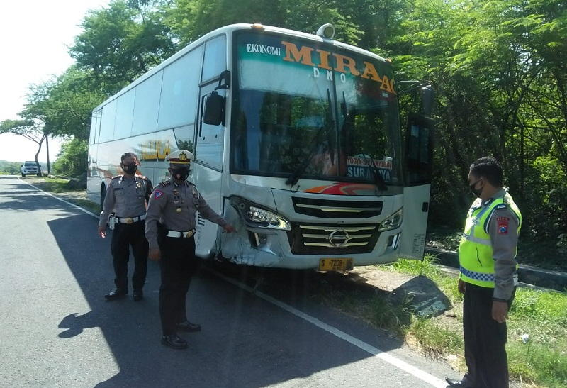 Sopir Bus Mira yang Tewaskan Bapak dan Anak di Madiun Jadi Tersangka, Ini Alasan Polisi